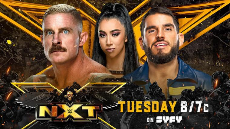 Johnny Gargano and Dexter Lumis battle for Indi Hartwell in Love Her or Leave Her Match