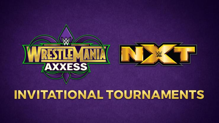 WWE announces four Invitational Tournaments for WrestleMania Axxess