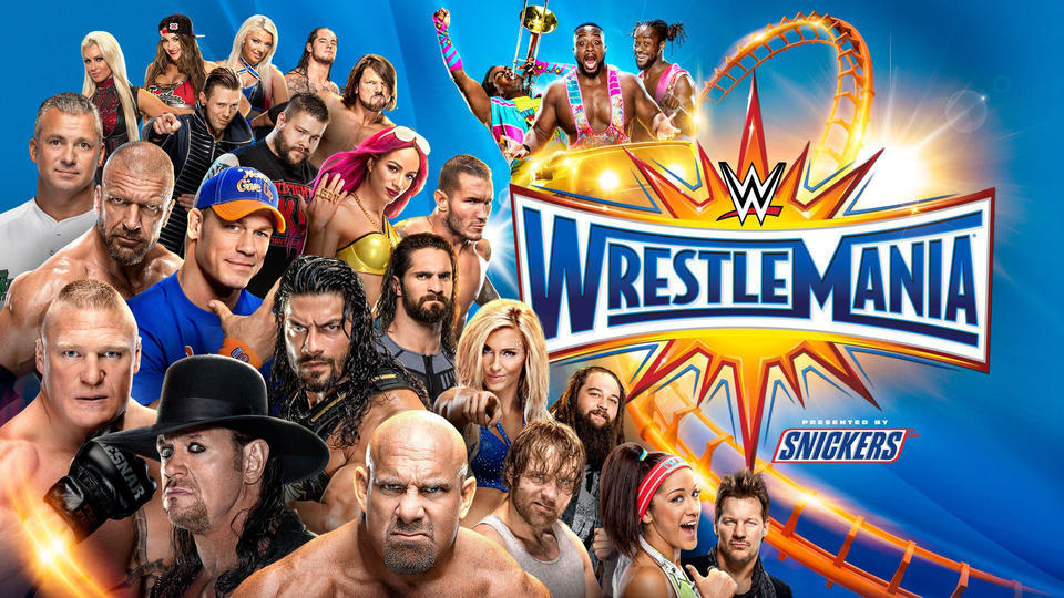 Image result for wrestlemania 33 Alexa Bliss (c) vs. Naomi vs. Mickie James vs. Carmella vs. Natalya vs. Becky Lynch