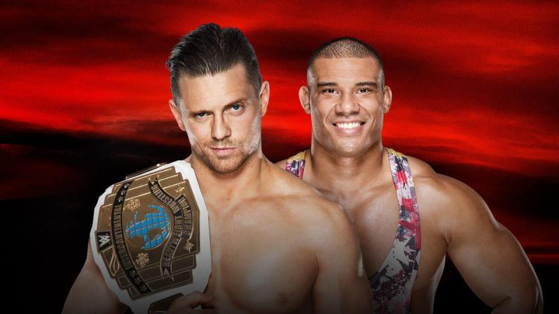 Image result for The Miz vs. Jason Jordan (Intercontinental Championship)