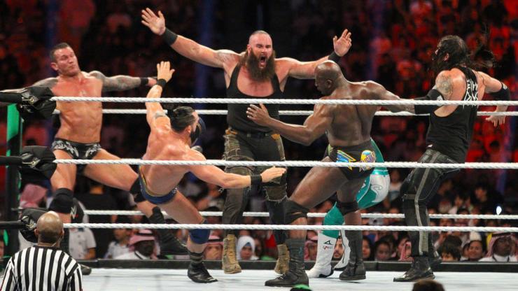 Braun Strowman has won the WWE Greatest Royal Rumble