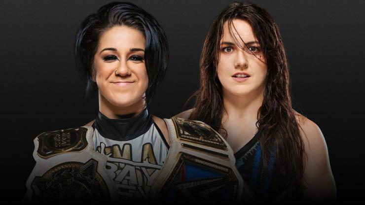 Bayley vs. Nikki Cross - Extreme Rules