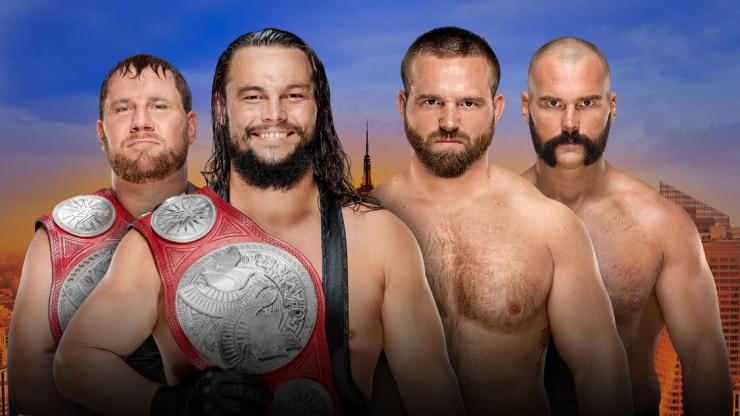 AJ Styles defends against Samoa Joe, Dean Ambrose returns, and the Big Dog tries to finally get it done against Brock Lesnar.