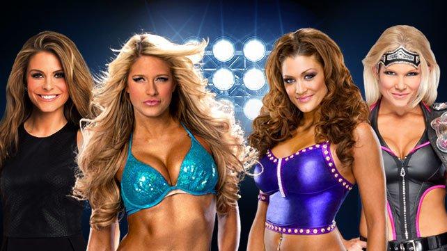 Kelly Kelly & Maria Menounos vs. Divas Champion Beth Phoenix & Eve