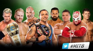 Money in the Bank Ladder Match for a World Championship Contract