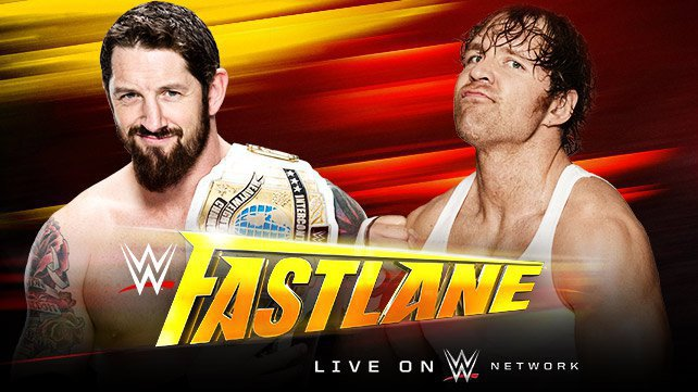 Intercontinental Champion Bad News Barrett vs. Dean Ambrose at WWE Fastlane 2015