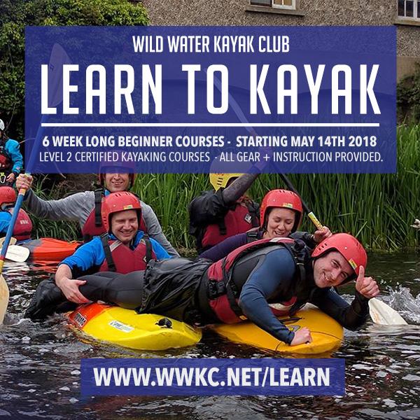 Learn to Kayak in Dublin, Kayaking course dublin