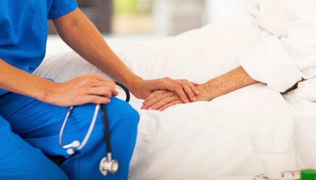 doctor comforting senior patient_172770