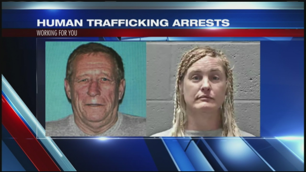 Two arrested for prostitution of minor