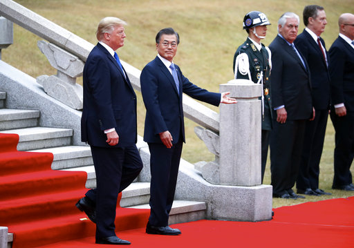 Donald Trump, Moon Jae-in_736917