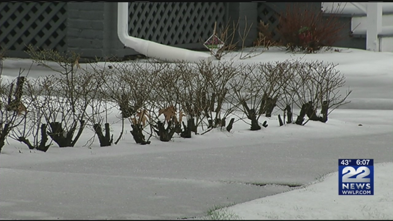 Wintry mix caused messy morning commute