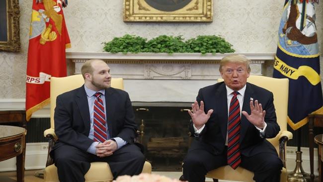 APTOPIX Venezuela Jailed American Trump_1527437046291