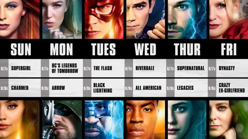 CW Fall 2018 Season Premieres