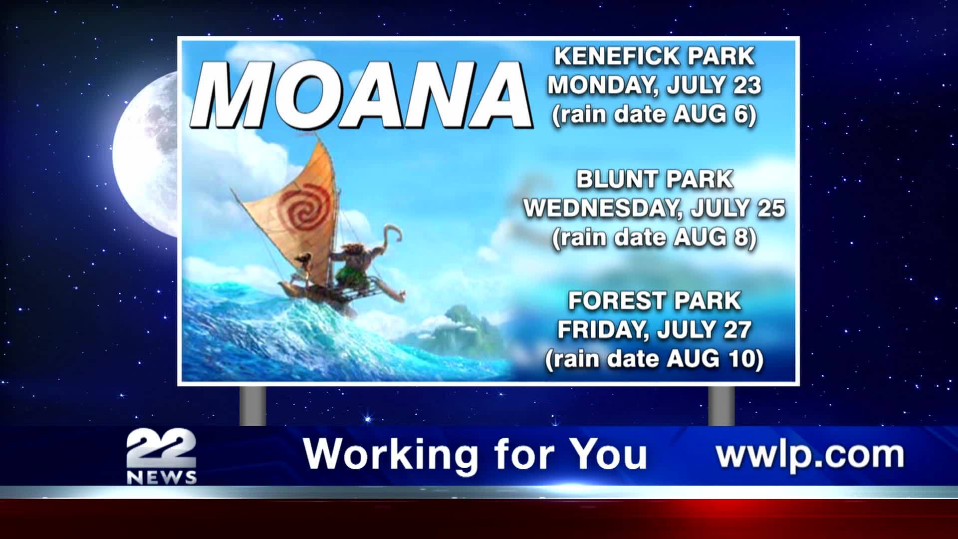 Friday's 'Movies in the Park' at Forest Park postponed due