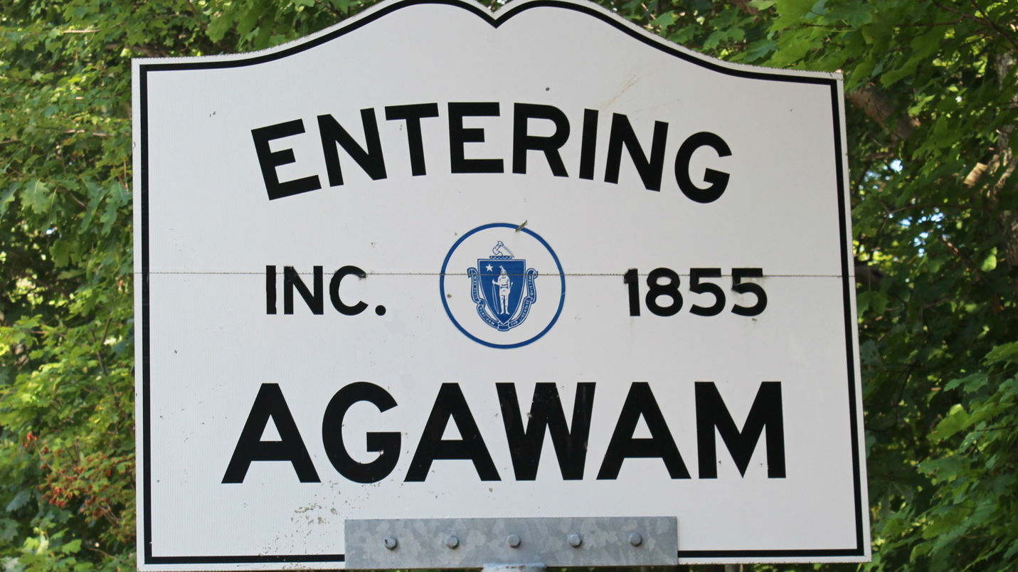 Town Sign Agawam
