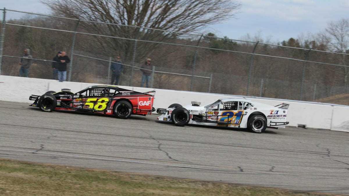 Blewett NASCAR Whelen Modified Tour Wiernasz