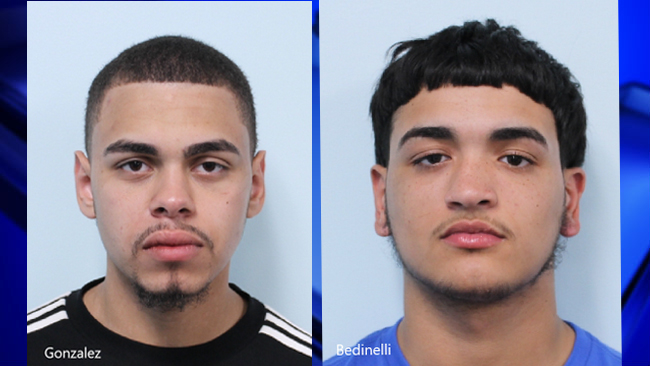 Suspects arrested after allegedly shooting people with