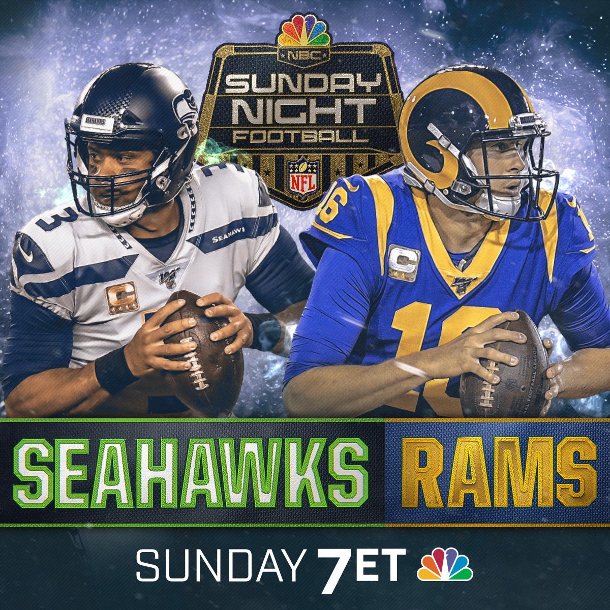 Watch Live Sunday Night Football Seahawks Vs Rams Wwlp