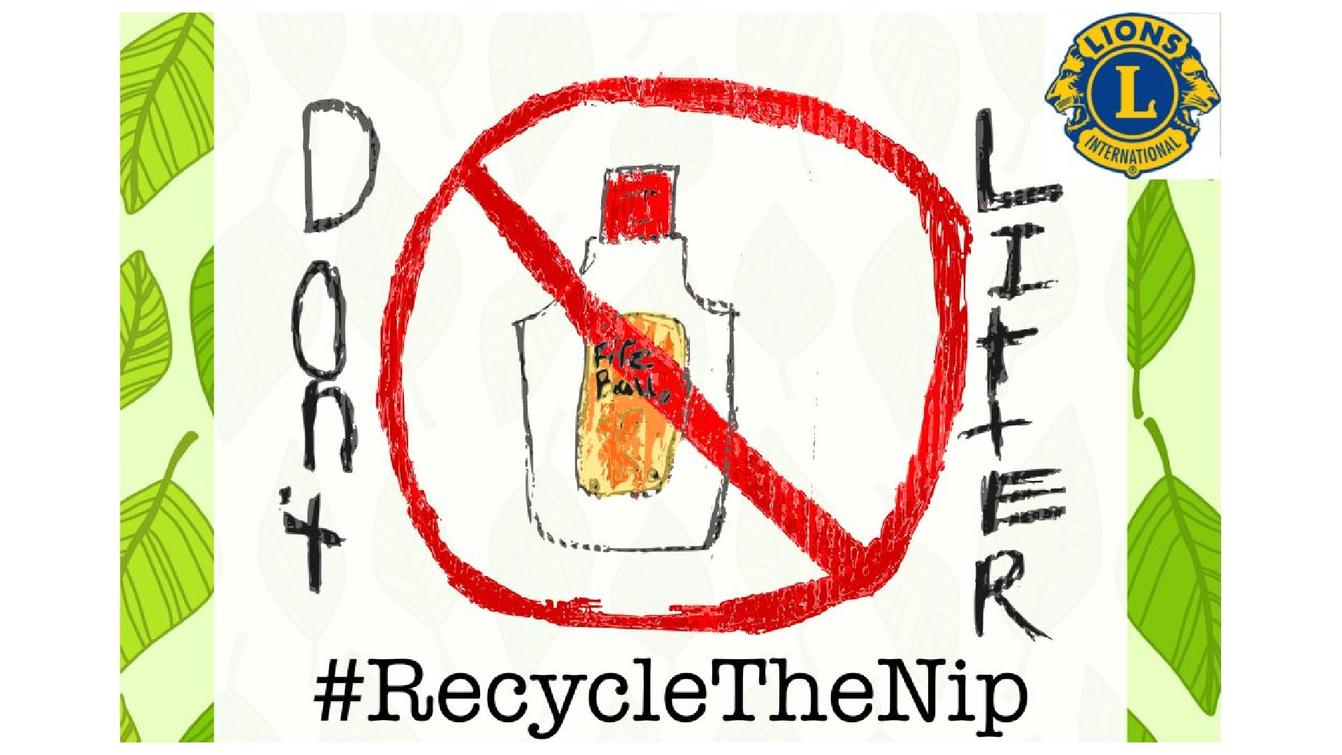 Pioneer Valley Lions Recycle The Nip Project