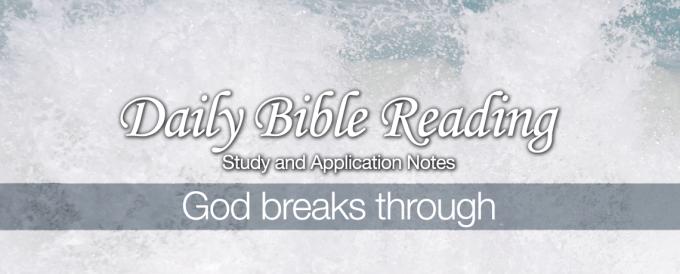 God-breaks-through