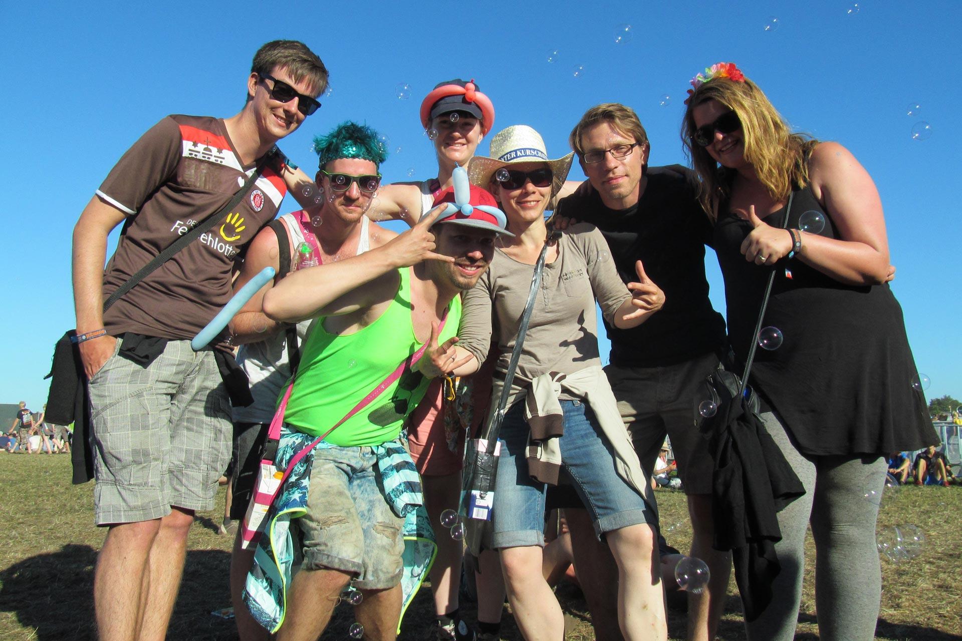 Deichbrand Festival: Gruppe