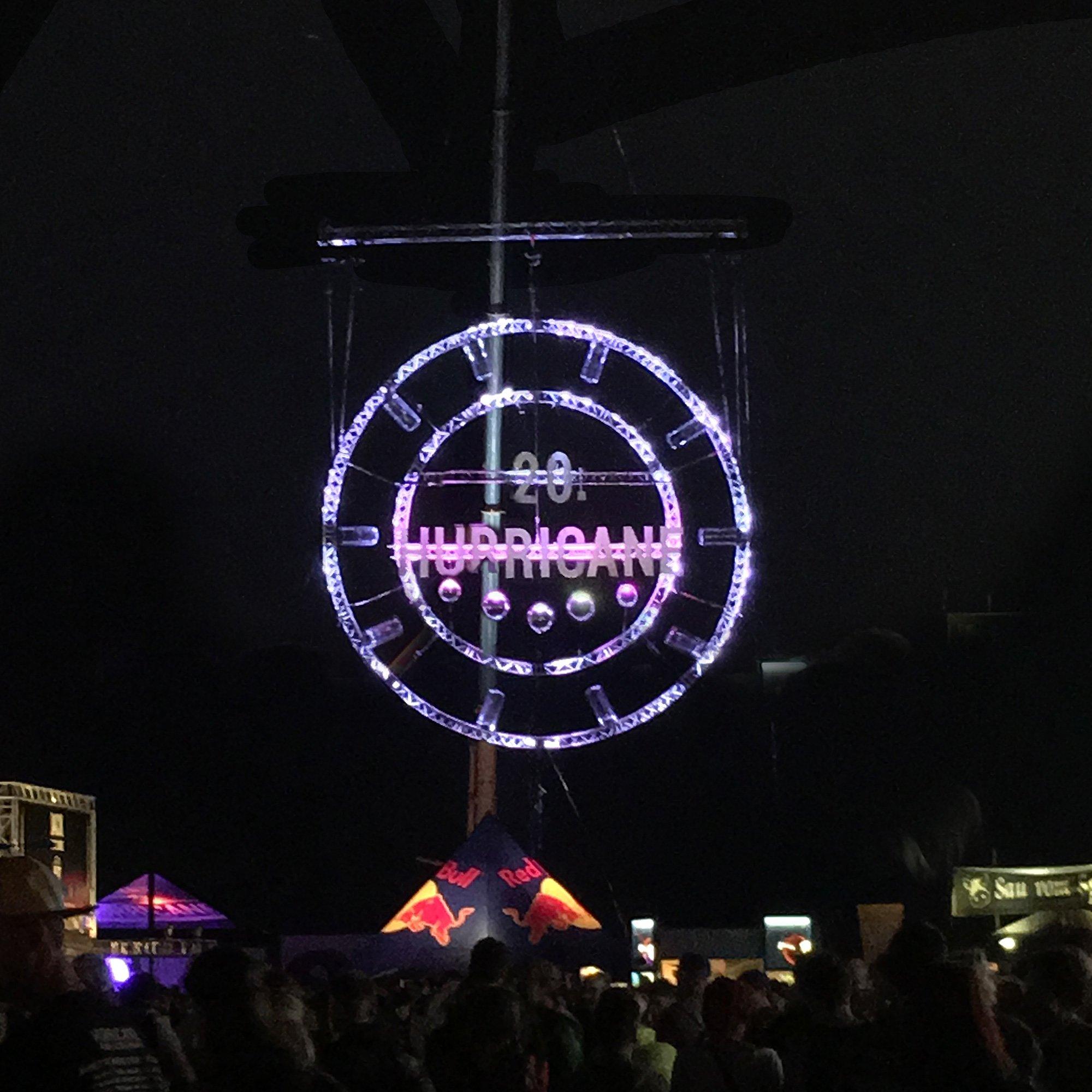 Hurricane Festival 2016: Discokugel