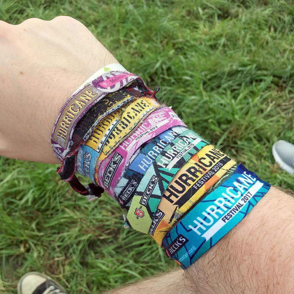 Hurricane Festival 2017: Bändchen