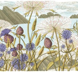 Angie Lewin a printmaker's journey exhbition lymington