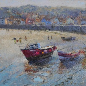 Carol Owen depth and distance in painting