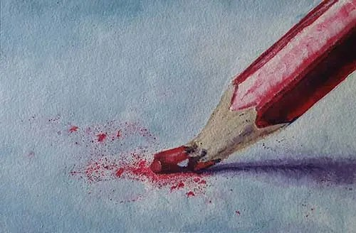 S Perkes Competition Winner Feb 2019 Broken Pencil Acrylic