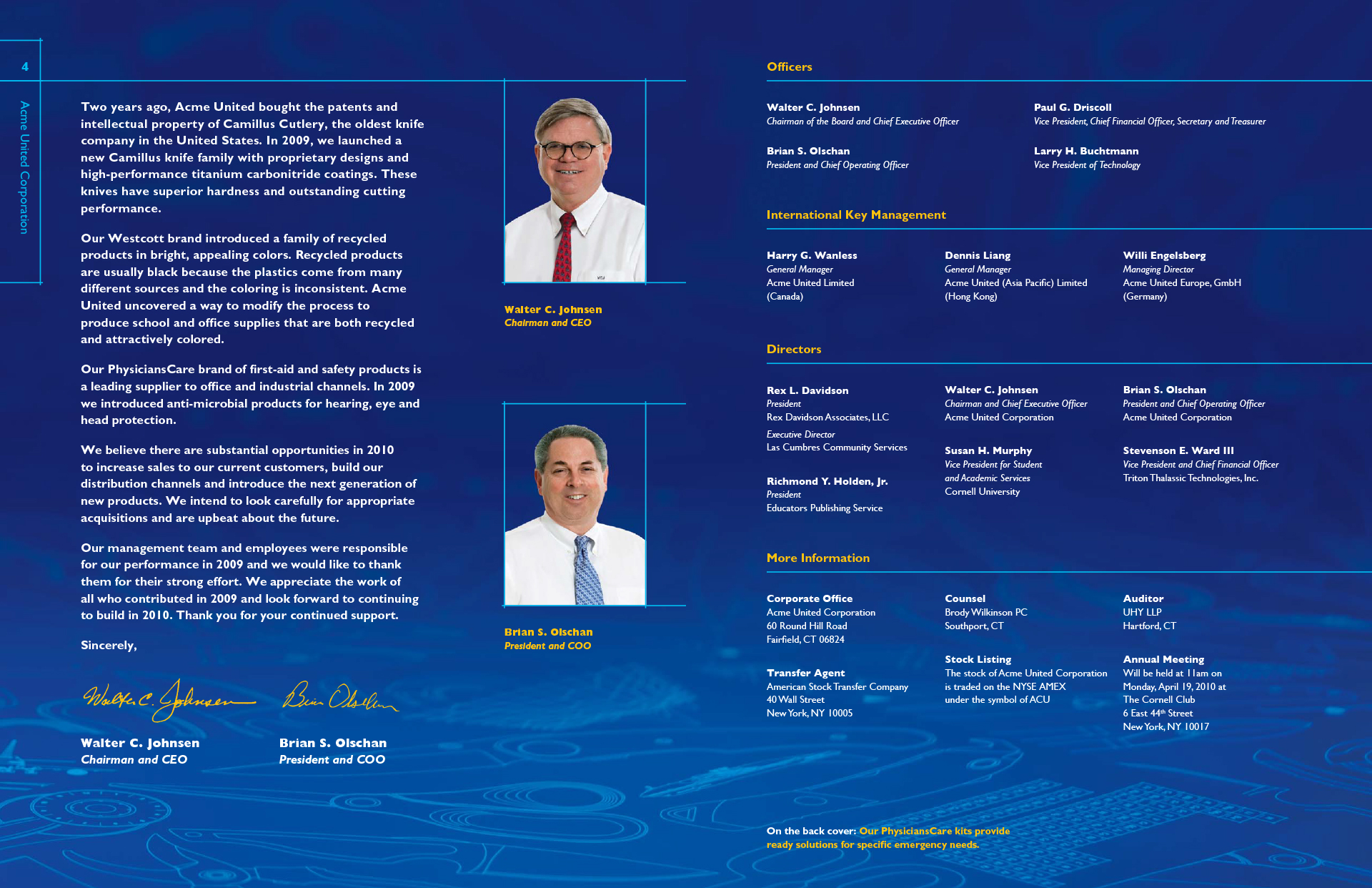 Acme United 2009 Annual Report