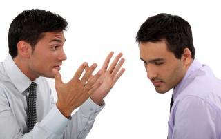 Relationship. 2 gay men arguing