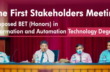BET (Honors) in Information and Automation Technology Degree for the Technology