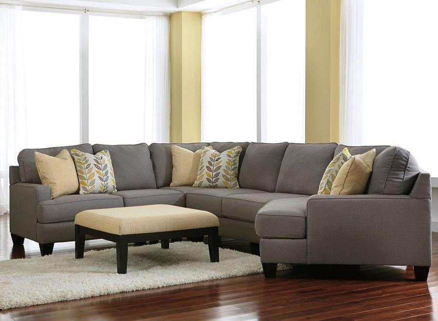 Ashley Furniture Chamberly Alloy 24302 Cuddle Corner