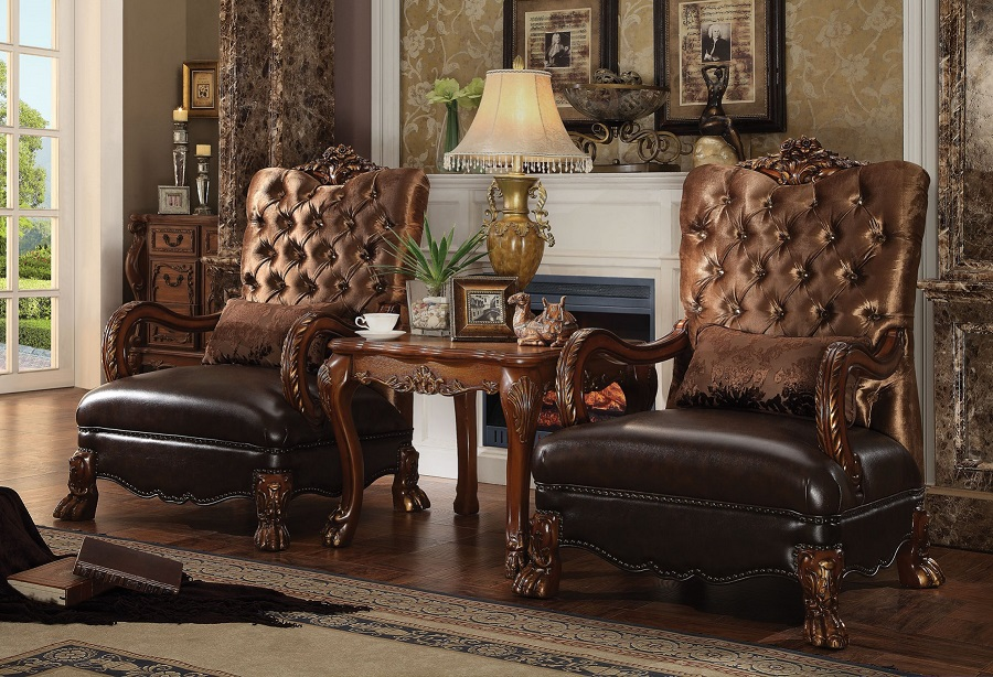 Dresden Collection 52097 Acme Accent Chair