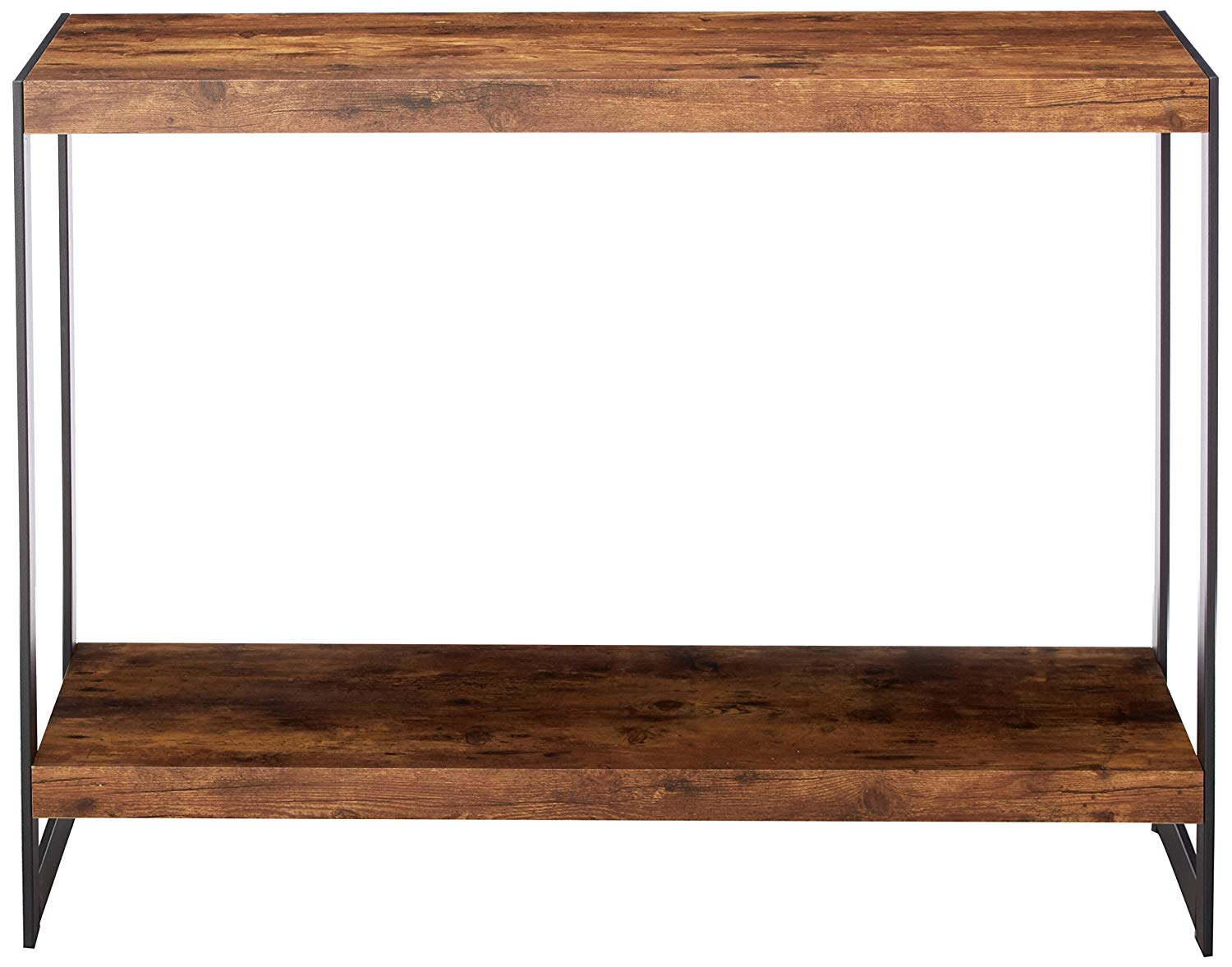Coaster 704029 Rustic Wood Metal Sofa Table