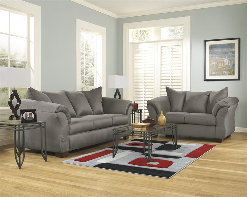 Darcy Collection 75005 Ashley Sofa Amp Loveseat Set