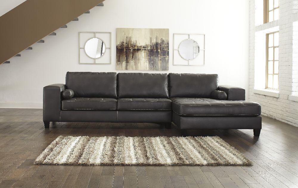 Nokomis 87701 17 By Ashley Furniture Sectional Sofa Faux
