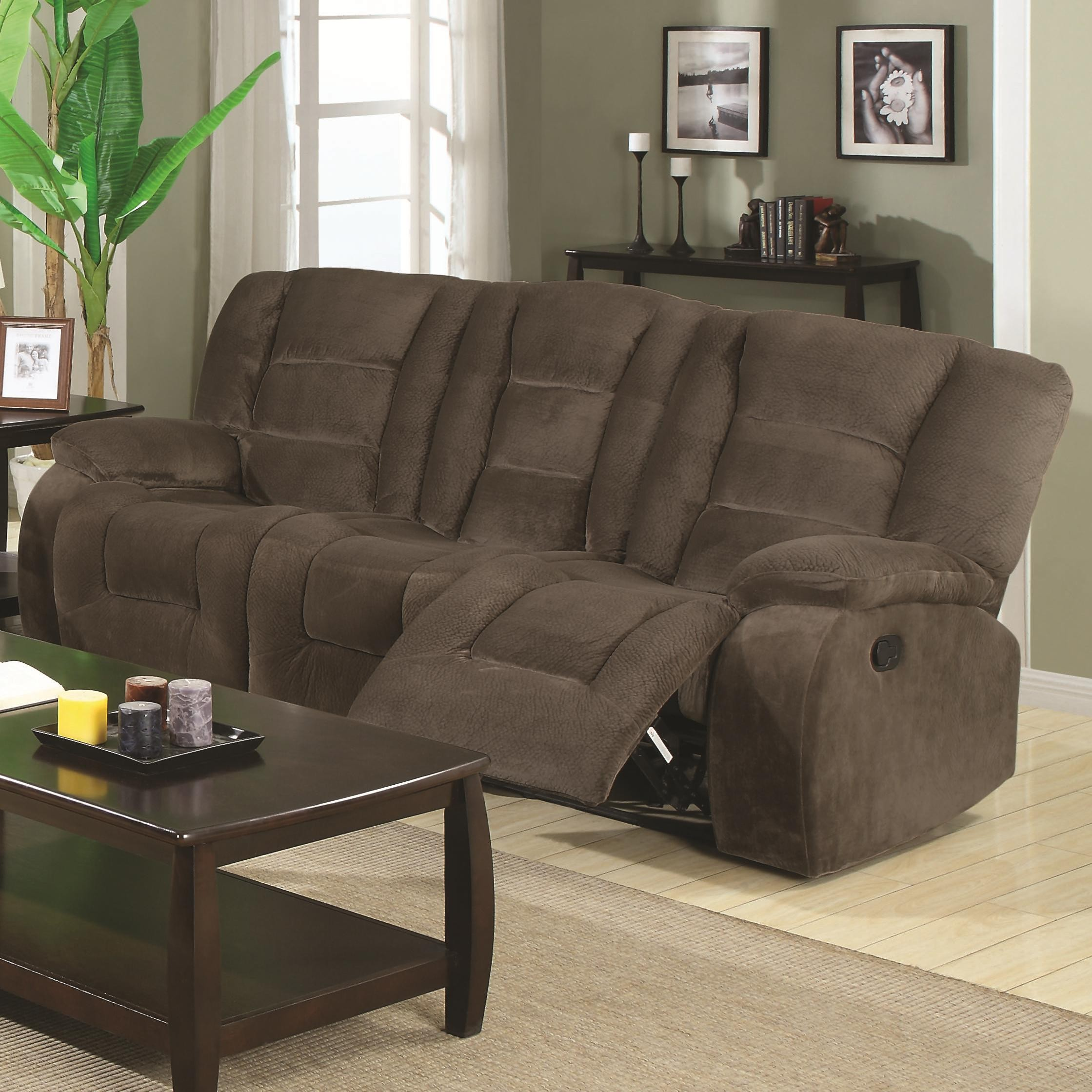 Charlie Collection 600991 Padded Velvet Reclining Sofa Loveseat Set & reclining sofa loveseat set | Centerfieldbar.com islam-shia.org