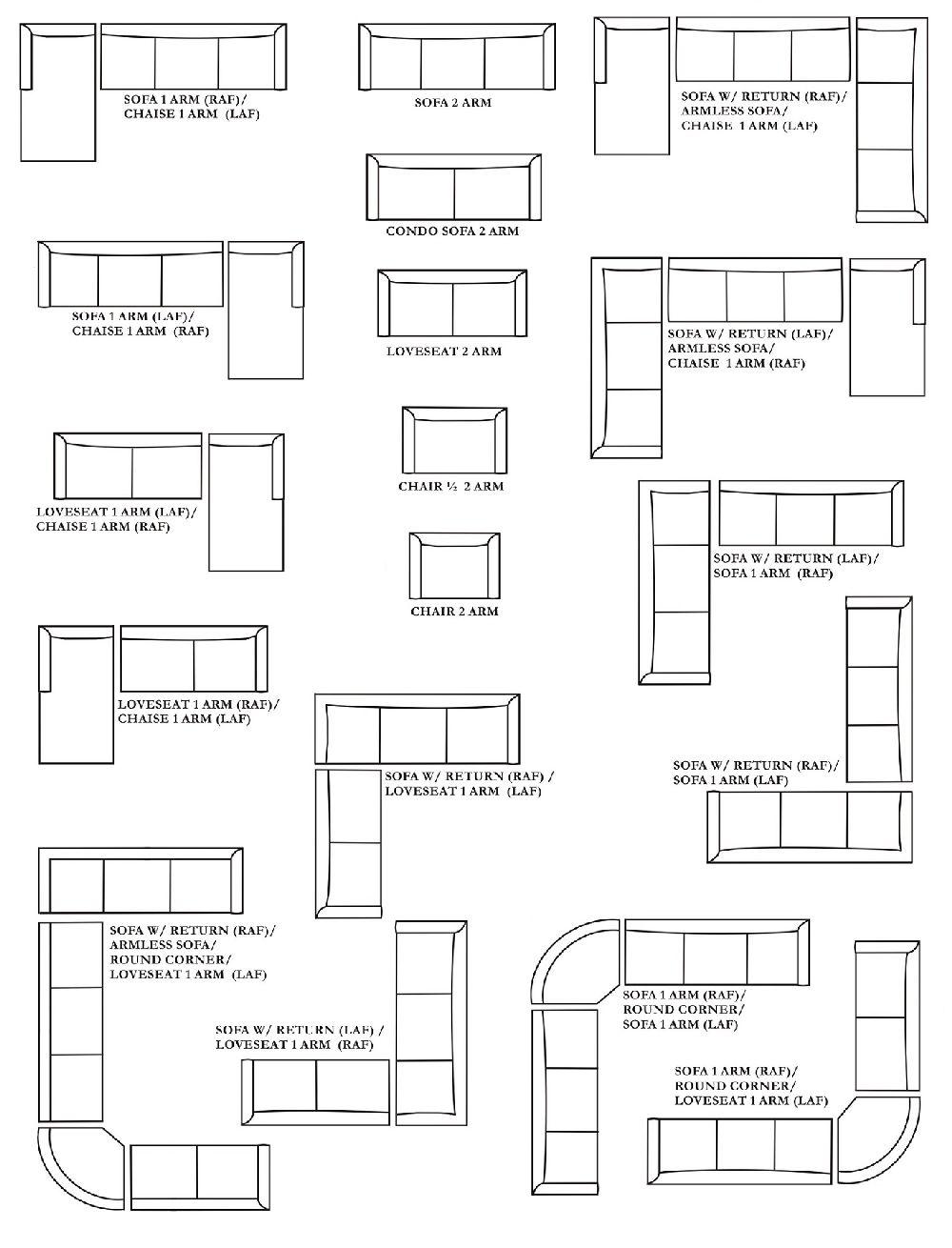 Corner Cuddler Sectional Sofa Customizable Large Sectional