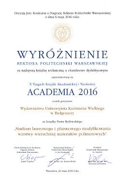 Wyróżnienie, Akademia2016_250