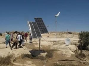 Znalezione obrazy dla zapytania panele sloneczne w palestynie zdjecia