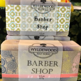 Barber Shop Goat Milk Soap