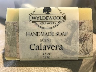 Calavera Scented Soap with Goat Milk