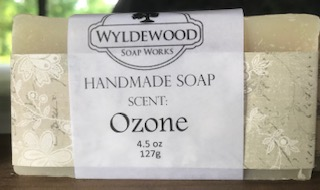 Ozone Scented Soap with Goat Milk