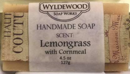 Lemongrass scented soap with cornmeal