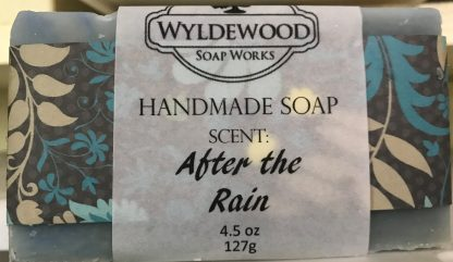 After the Rain Scented Soap with Goat Milk