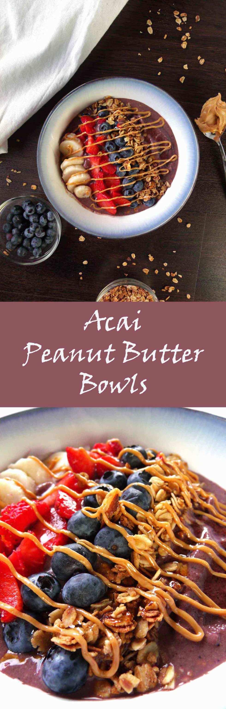 Acai Peanut Butter Bowl