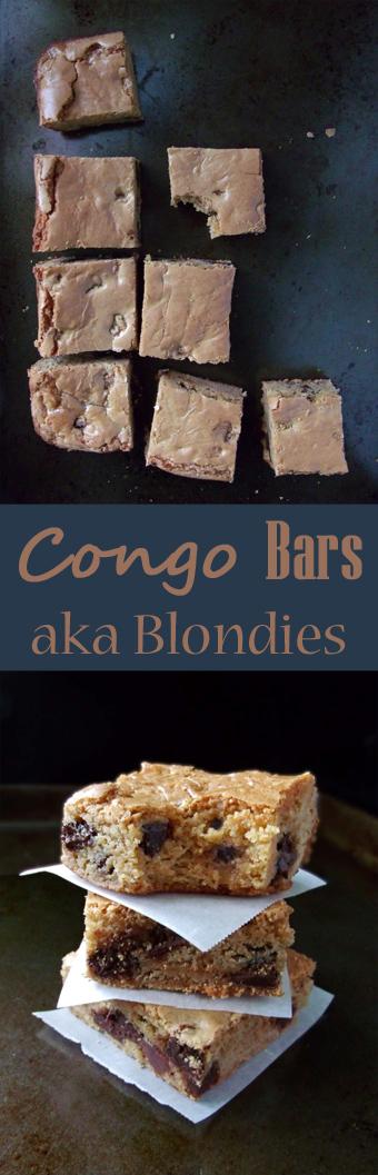 Congo Bars Blondies Brownies