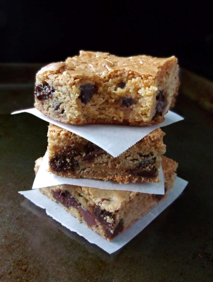 Congo Bars aka Blondies aka Chocolate Chip Brownies